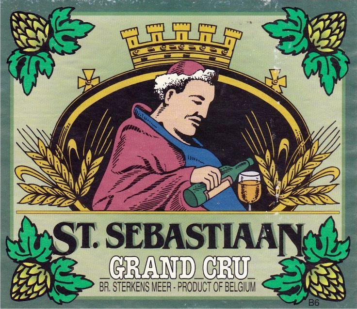 St Sebastiaan Grand Cru, Abbey Tripel 7,6% ABV (Brouwerij Sterkens, Bélgica) #label