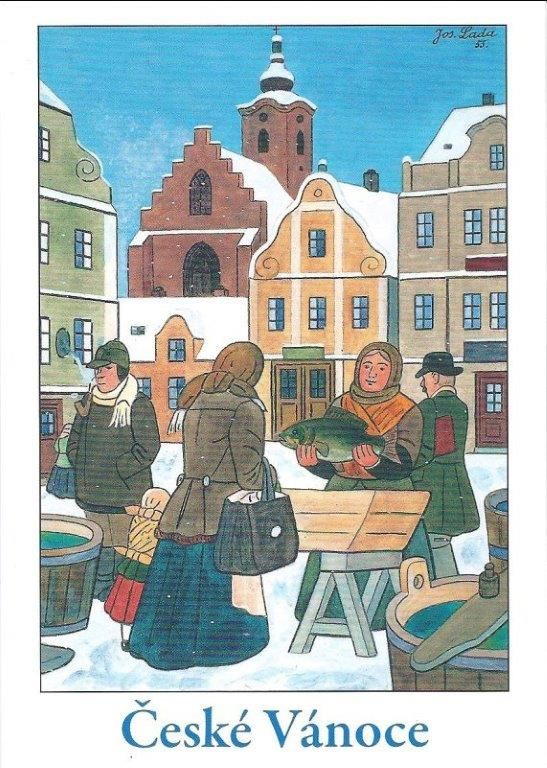 CZECH CHRISTMAS CARD