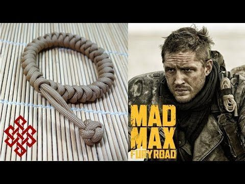 Mad Max Snake Knot Paracord Bracelet Tutorial, My Crafts and DIY Projects