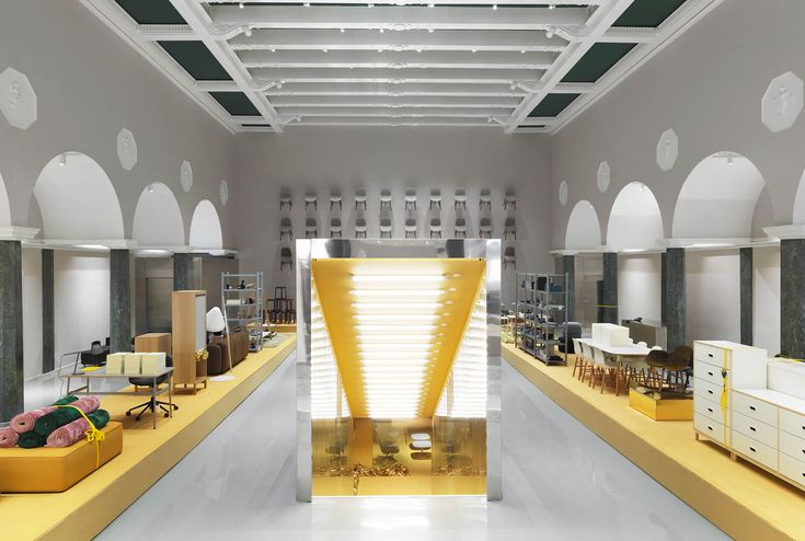 Out with the old, in with the bold – Normann Copenhagen goes for gold - News - Frameweb