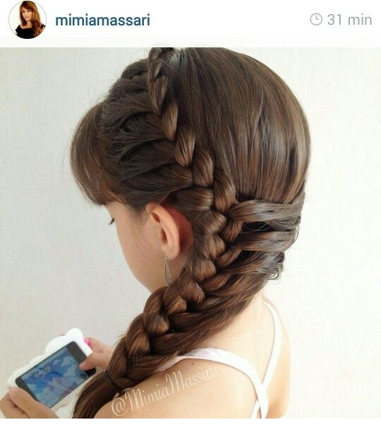 Beautiful Hairstyle from Instagram