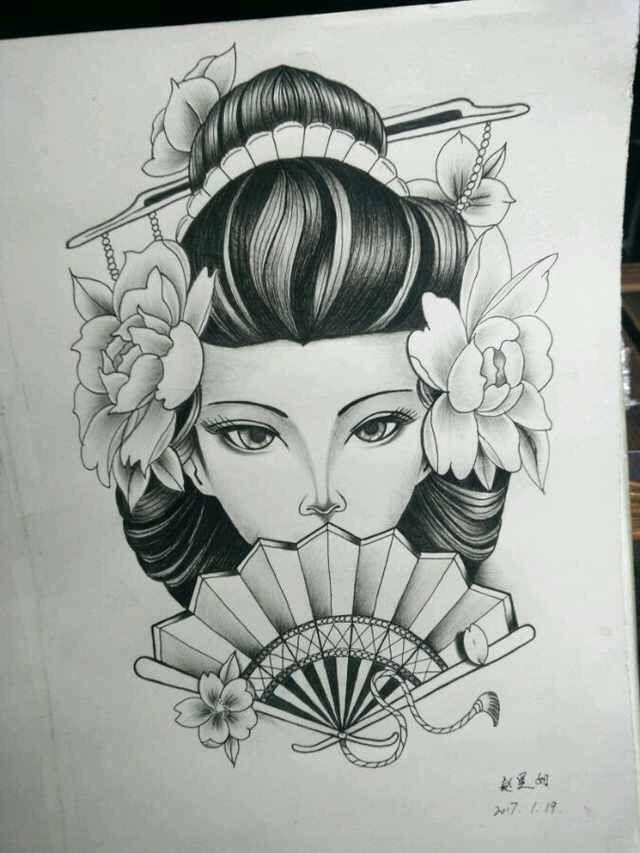 Japanesetattoos Geisha Japanesetattoos Tatuagem Gueixa