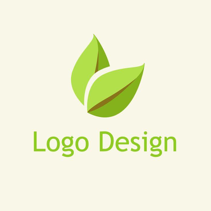 free vector design eco leaf logo vector logo pinterest leaf logo logos and medical logo