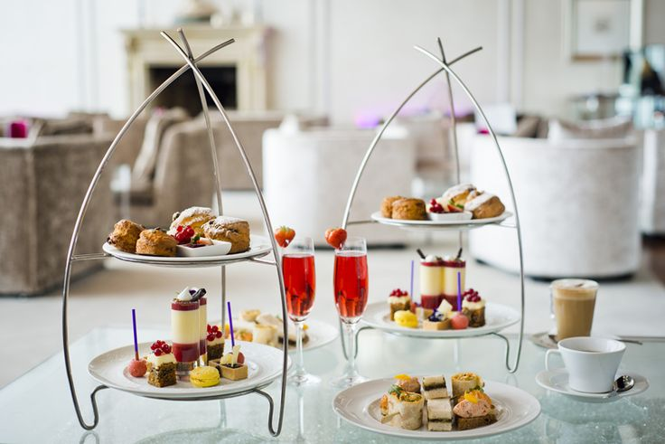Pink Afternoon Tea at the g Hotel & Spa in Galway City - enhance your high tea experience with a glass of rosé champagne or a prosecco cocktail. TO BOOK email eat@theg.ie or call 091 865200.