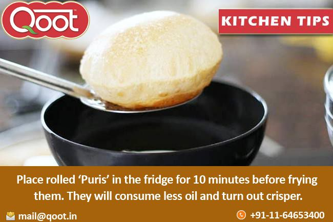 Kitchen Tip http://www.qoot.in/ #Puris , #Fact , #khakhra, #Pickles, #India , #bikanerpapad