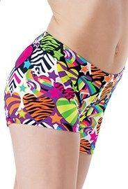 Wild Hearts Print Shorts
