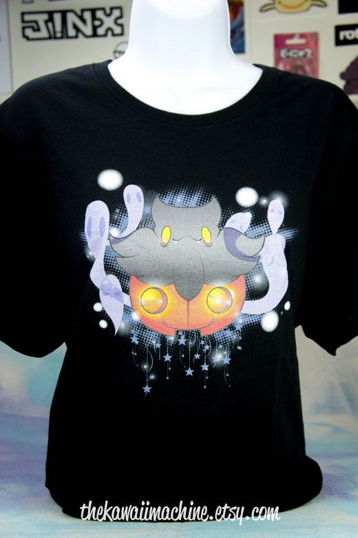 Kawaii Fairy Kei Pastel Goth Soul of Cute Pumpkaboo Pokemon Shirt  #fairykei #pastelgoth #pokemon #kawaii #cute #pumpkaboo #tshirt #t-shirt