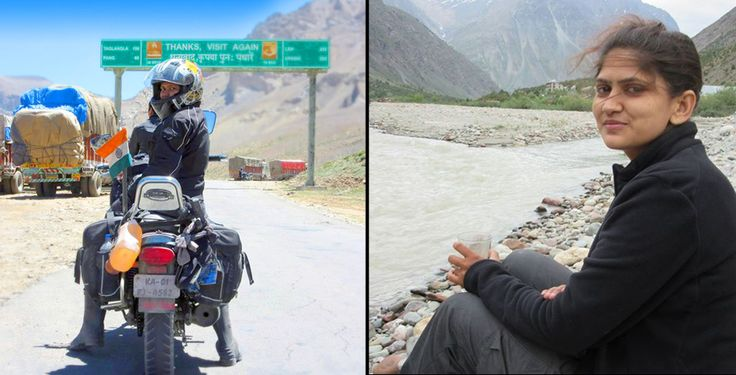 Meet the First #Indian #FemaleBiker to #Ride Solo.