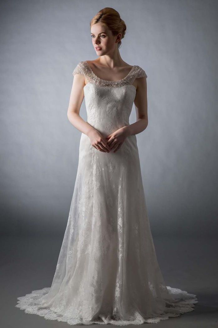 Saison Blanche Couture Wedding Dresses | Never need help to zip up or button again with http://zipmyself.com