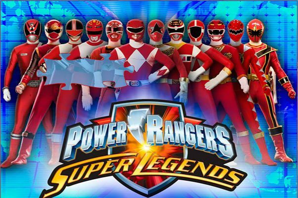 Power Rangers Super Legends Jigsaw Puzzle game online