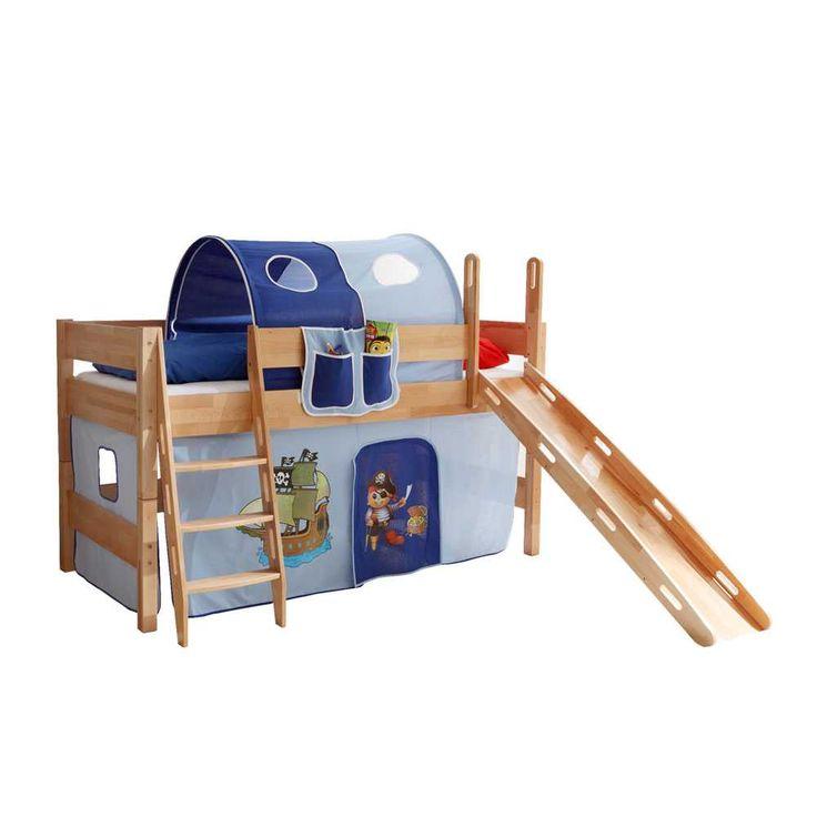 Die besten 25+ Kinderbett mit rutsche Ideen auf Pinterest ... | {Kinderhochbett mit rutsche 60}