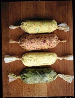 Warzywa na parze z masłami smakowymi