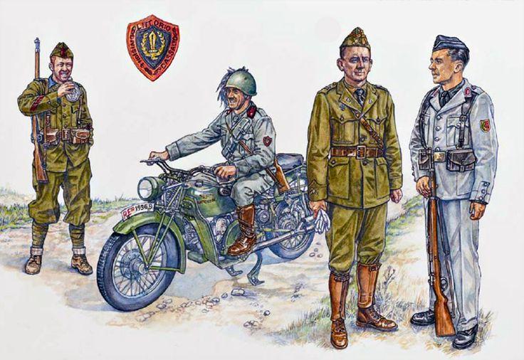 Nationalist Forces - Foreign Volunteers of the Spanish Civil War: • Irish Cabo, XV Bandera del Tercio & Eoin O'Duffy of the Fascist Blueshirts