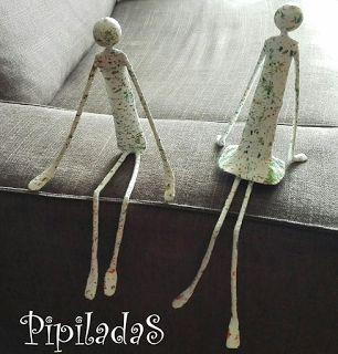 PIPILADAS: Figuras de papel maché originales y fáciles de hac...