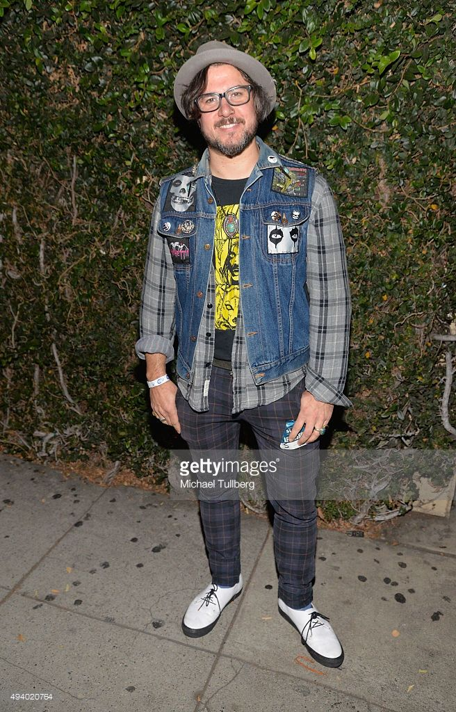 Director Corin Hardy attends a screening of IFC Midnight's 'The Hallow' at Cinefamily on October 23, 2015 in Los Angeles, California. Wearing Tracey Neuls