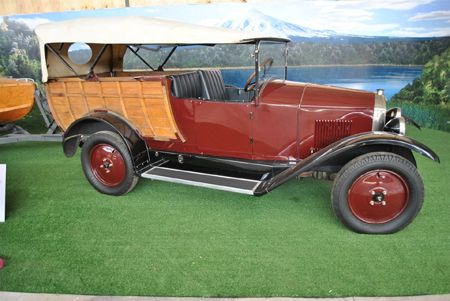 Vintage cars at Museo de Automovil - Vina Santa Cruz, #Colchagua