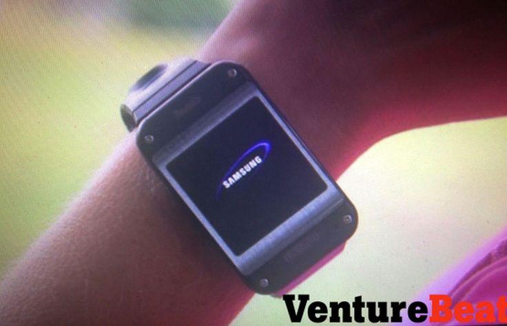 #SAMSUNG GEAR Les premières photos de la montre Samsung Gear ?