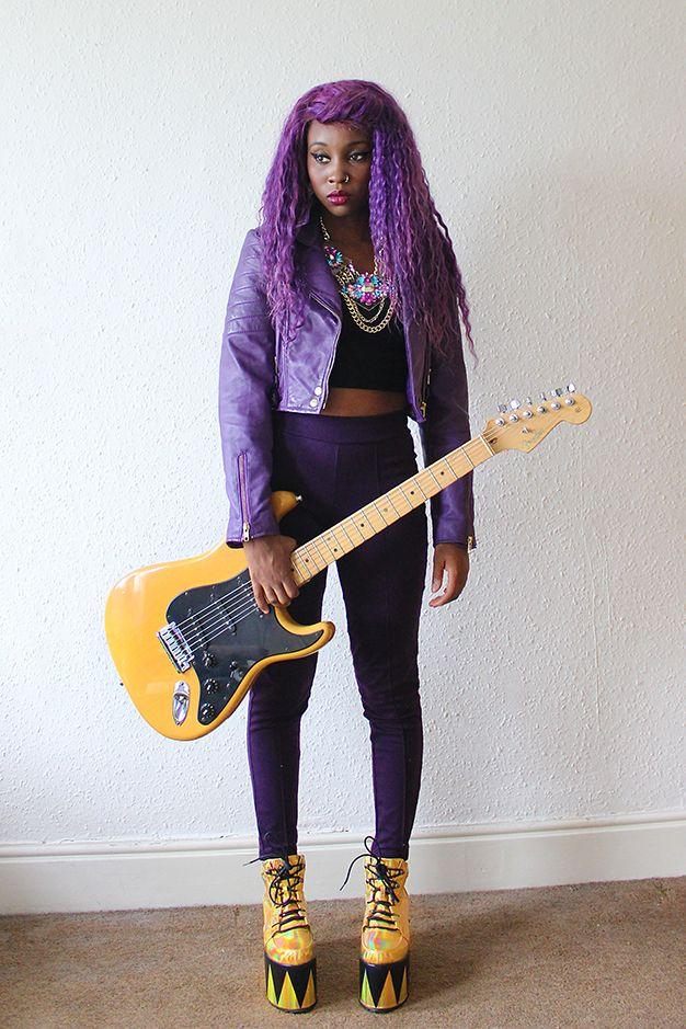 "blackfashion: "" The Debut EP from @bibibellatrixx is out now! Listen here: https://soundcloud.com/bibi-bellatrixx/sets/b-side-part-1 "" BGKI - the #1 website to view fashionable & stylish black girls"