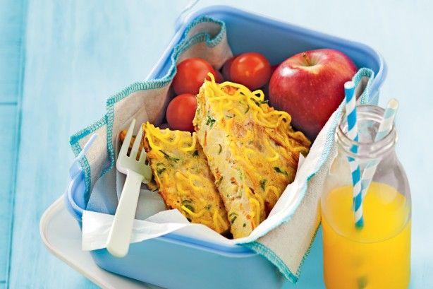 Vegie and egg noodle slice main image