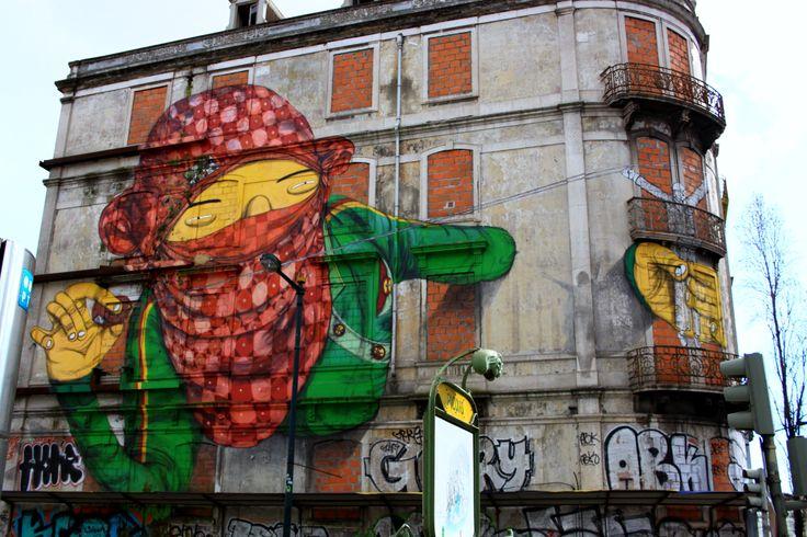 #Streetart #Lisboa