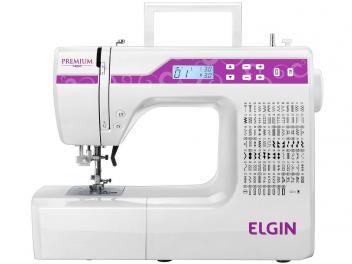 Máquina de Costura Elgin Premium - 100 Pontos - com as melhores condições você encontra no Magazine Shopspremium. Confira!