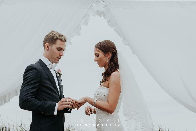 Long Reef wedding ceremony