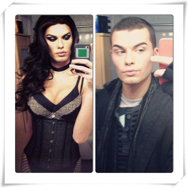 Tits. #ladyboy #makeup #tranny #doubletrouble