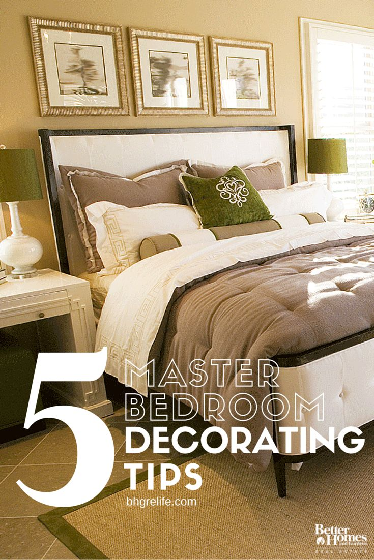 Decorate Your Master Bedroom Like A Pro With Our Five Master Bedroom Decorating Tips