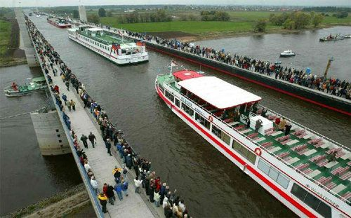 Magdeburg Water Bridge is the longest navigation waterways in the world. Description from geoweeks.blogspot.com. I searched for this on bing.com/images