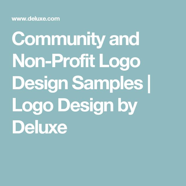 Community and Non-Profit Logo Design Samples | Logo Design by Deluxe