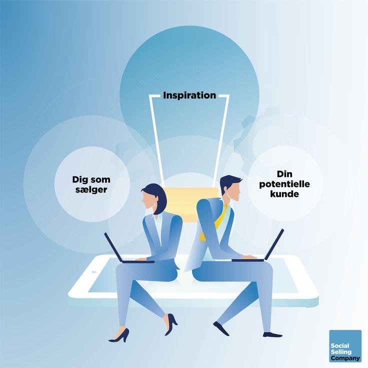 Inspirerer du dine kunder? Faktisk er inspiration et af de stærkeste virkemidler du kan bruge til at skabe forbindelse til en ny potentiel kunde med.