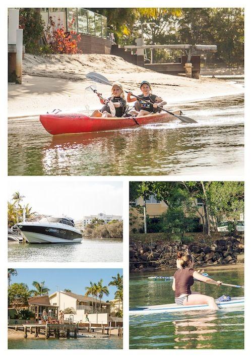Noosa River fun! #visitnoosa #noosa #noosariver #thisisqueensland #seeaustralia #river #fun #riverfun #water #boat #canoe #waterfront
