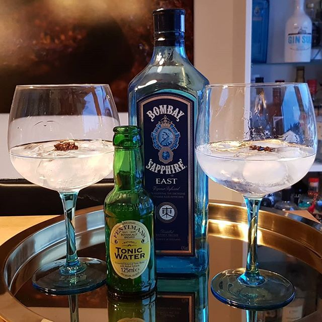 @bombaysapphire East Gin Fentimans Tonic star anise. #gintonic #gin #dandywithlens #gt DandyWithLens.com