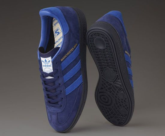 Adidas x Oi Polloi Manchester Marine OP Spezial trainers
