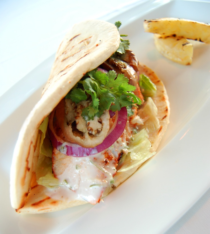 Chicken Tandoori Wrap at The Shore Restaurant and Bar