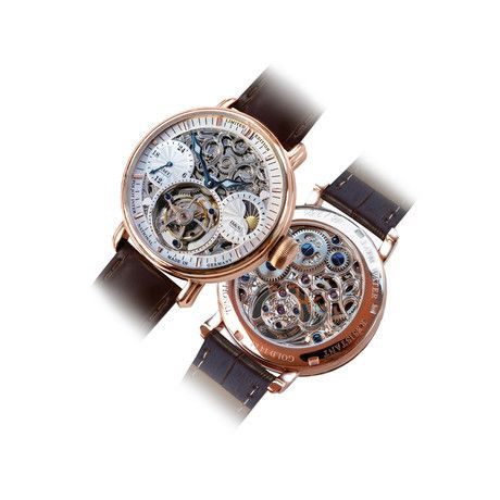 POLJOT Mechanical Watches Poljot International is a leader of inimitable and post-modern design, these well-designed watches have been carefully assembled in Germany to exacting standards. Whichever you choose, it's sure to be historically inspired and absolutely stunning.Tourbillon Skeleton Mechanical // 3360.T555-RG-S
