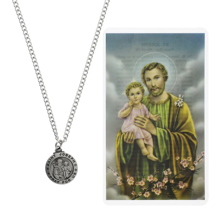 A thoughtful and inexpensive gift - St. Joseph is a universal patron saint for all Christians.