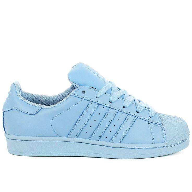 Superstar Adidas Bleu Turquoise