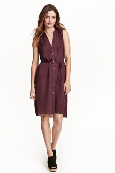 Vestido com cinto de atar | H&M