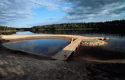 Hiisijärven hiekat   Amazing beach with white sand  #Ristijärvi