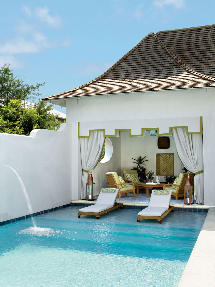 Swimming pool and article