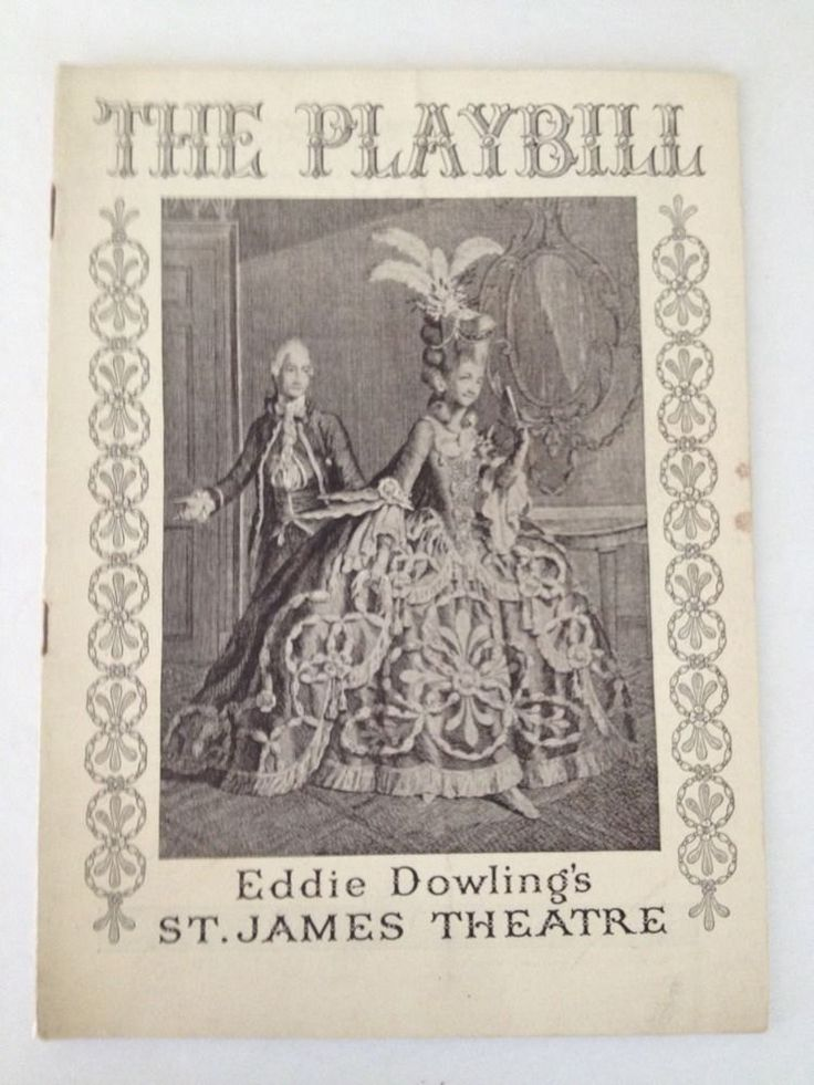 Playbill 1935 St James Theatre Broadway NYC Thumbs Up Eddie Dowling Theater Comedy Play by aroundtheclock on Etsy