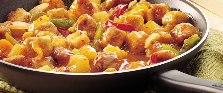 Skillet-easy, homemade sweet-and-sour pork can be on your dinner table in less than 30 minutes.