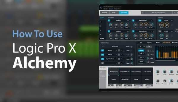How To Use Logic Pro X Alchemy TUTORiAL SYNTHiC4TE | Oct 22 2016 | 695 MB Alchemy is a powerful sample manipulation synthesizer. Here we learn how to quic