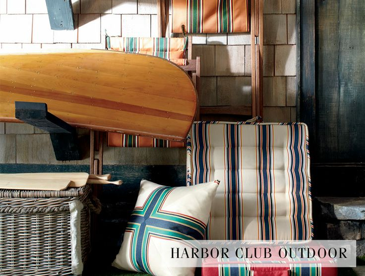 Perfect Bring Nautical To New Heights With Ralph Lauren Home Collection, Aptly  Named Harbor Club Outdoor Made From Sunbrella Acrylic.