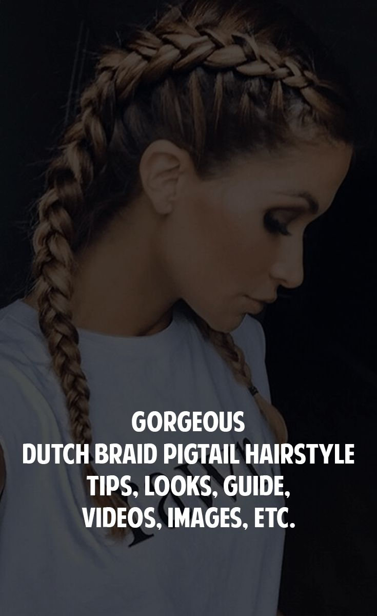 Dutch Braid Pigtails are very easy and quick to create with many wow factors. This blog has step by step tutorial for Dutch Braid Pigtail hairstyle.