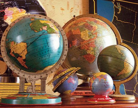 Collecting Old Globes