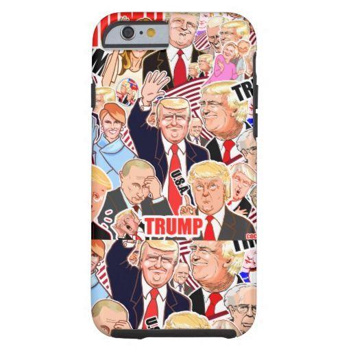 Donald Trump.45th President of the U.S.A. Tough iPhone 6 Case