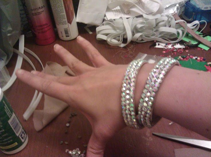 DIY Ballroom Dancing Jewelry/Bangles...