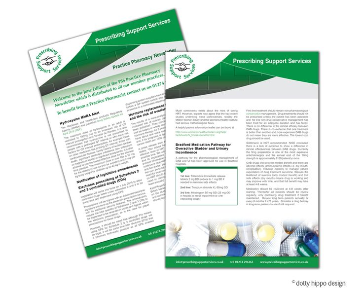 Newsletter for Pharmacy